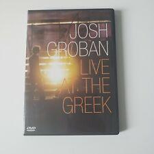 Josh Groban - Live At the Greek DVD, 2004