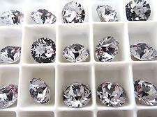12 Smoky Mauve Foiled Swarovski Crystal Chaton Stone 1088 39ss 8mm Chatons