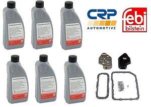 For BMW E36 318 323 325 328 525i Z3 Transmission Fluid 6 Liters & Filter Kit