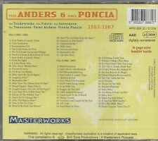 ANDERS & PONCIA CD -  2 CD SET  'MASTERWORKS'   BRAND NEW