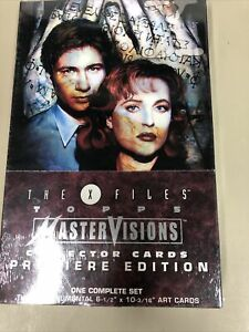 1995 TOPPS THE X FILES MASTER VISIONS COLLECTOR CARDS COMPLETE SET SEALED