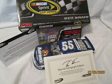 1 of200 Autographed 2013 BRIAN VICKERS #55 AARON'S LOUDON RACED WIN 1/24 FREES&H