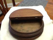 Antique R.F. HAMMER Cincinnati Wooden Storage / Jewelry / Sewing Box