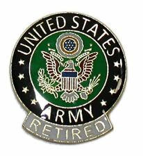 Army Retired Tie Tac Fast Usa Ship Army Retired Lapel Pin Hat Pin United States