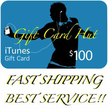 Apple $100 iTunes US Gift Card Karte Voucher Certificate USA USD 100% Genuine
