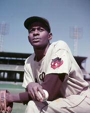 1952 St Louis Browns SATCHEL PAIGE Glossy 8x10 Photo Print Baseball Poster