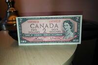 1954 $2 Dollar Bank of Canada Banknote HG3350215