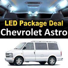 For 1998 - 2004 2005 Chevrolet Astro LED Lights Interior Package Kit WHITE 8PCS