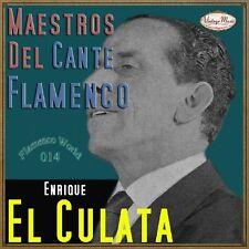 ENRIQUE EL CULATA CD Flamenco World #14/22 Spain Guitar Baile Cante Jondo olé