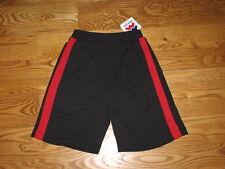 NEW Miami Heat Boys Youth Athletic Shorts Size XL 20 Red Black Girls XLarge