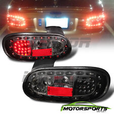 1999 2000 2001 2002 2003 2004 2005 Mazda Miata MX-5 Black LED Brake Tail Lights