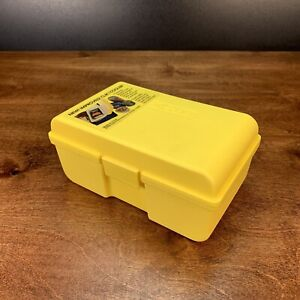 1990 Cooler Insulin Can Drink Beverage Travel Insulated Cool Case Yellow click