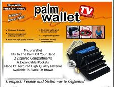 The Micro Palm Wallet Available In Black Or Brown And Free Shipping