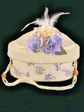 Teddy Bear/Doll Bearington HAT BOX, #9766 RIBBON & ROSES, New From Retail Store