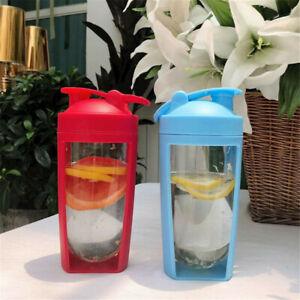 Sport Gym Protein Supplement Shaker Bottle 750ML Cup/Vitamins Storage/Mixer Ball
