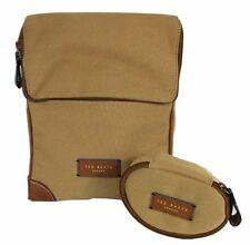 """TED BAKER  """"Top Case"""" Natural Smart Nylon Shirt Case Bag"""