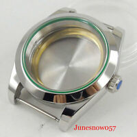 40mm Stainless Sapphire Watch Case Fit ETA 2836 Miyota 8215 821A Movement