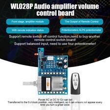 AC/DC 9V Infrared Remote Control Volume Control Board ALPS Pre Potentiometer AMP
