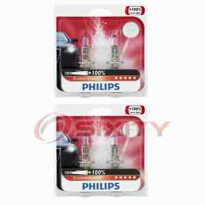 2 pc Philips Front Fog Light Bulbs for BMW 318i 318is 318ti 320i 323i 323is yn