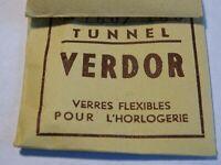 """Orologio per Orologio Vetro Di Lunetta """" Tunnel """" VERDOR 150/150"""