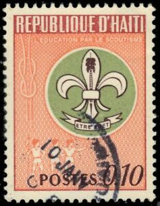 "HAITI 576 - Education Awareness Campaign ""Boy Scout Emblem"" (pb39758)"