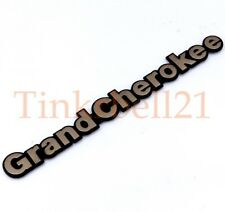 93 94 95 96 97 98 Jeep Grand Cherokee Gold Fender Emblem Nameplate Badge OEM