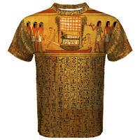 New Egypt Papyrus Hieroglyphics Men's Sport Mesh Tee t shirt S-5XL FREE SHIPPING