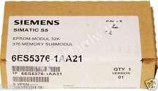 New Sealed Siemens 6ES5376-1AA21 6ES5 376-1AA21 SIMATIC S5 Memory Submodule