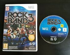 Rock Band 3 - Nintendo Wii / Wii U - PAL - Free Fast P&P! - RockBand Music Songs
