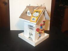 Potting Shed Bird Feeder by Home Bazaar All Wood Non Toxic Paint