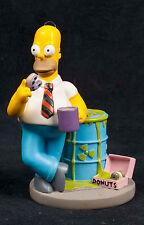 Simpsons Nuclear Family Homer Forbidden Donut Hamilton Collection Sculpture