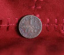German States 1790 /89 ? Saxony Albertine Pfennig World Coin Germany August III