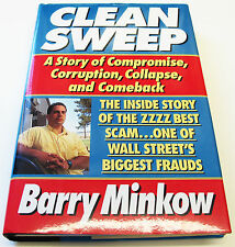 Clean Sweep by Barry Minkow SIGNED