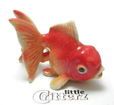 "LC242 Fantail Goldfish named ""Fancy""-Porcelain Figurine(buy 5 get 6th free)"