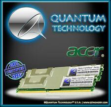 8Gb 2X 4Gb Ram Memory For Acer Certified Pc2-5300 Ddr2 667 Mhz Ecc Fbdimm New!