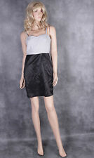 WALTER BAKER Grey Black Bandage Dress Size M Ladies Evening Party Wiggle Frock