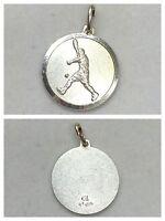 Anhänger 925er Silber Motiv Tennis Silberanhänger Silberschmuck