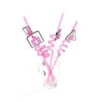 1x Rose L Bride to Be Drinking Straw for Hen Night Party Girls BacheloretteUULK