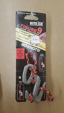 """Nite Ize F9L-03-09 Figure 9 - 10ft Rope 150 lbs Red fits 1/8 - 3/8"""" Rope"""