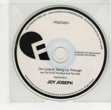 (GW597) Jay Joseph, Our Love Is Taking Us Through - 2008 DJ CD