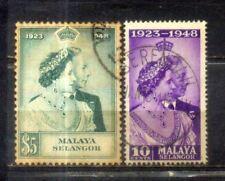 1948 Malaysia Malaya Selangor Silver Welding Set.  CV Rm 80