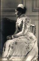 Ansichtskarte PK sw Grossherzogin v. Baden Liersch 1906 ungel. Adel Fotografie