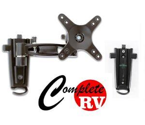 Single arm LCD TV bracket with 2 mounting brackets Caravan RV Parts Motor Home