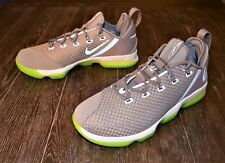 NEW NIKE LEBRON XIV LOW MEN'S BASKETBALL SHOES SIZE 11 DUST REFLECTIVE GREY
