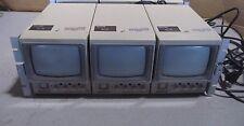 """OEM  Panasonic WV-BM500 Monochrome 5"""" Video Monitor + Rack Mount WV-BM500U qty 3"""