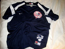 NEW YORK YANKEES SEWN EMBROIDERED AMERICAN LEAGUE LOGO NIKE  JERSEY-LNWOT-2XL