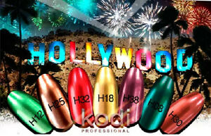 NEW!!! Kodi Professional Hollywood - Gel LED/UV Nail Polish Color MIRROR effect