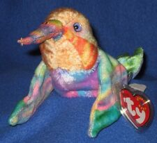 TY NECTAR the HUMMINGBIRD BEANIE BABY - MINT with MINT TAG