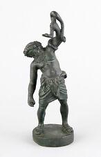 Bronze Skulptur DER SILEN MIT DER SCHLANGE