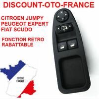 Commande Bouton Lève Vitre + rétroviseur 6554ZJ CITROEN JUMPY / PEUGEOT EXPERT /
